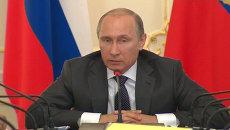 Все можем делать сами – Путин о производстве комплектующих ОПК в России
