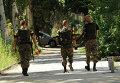 Солдаты украинской армии в Славянске