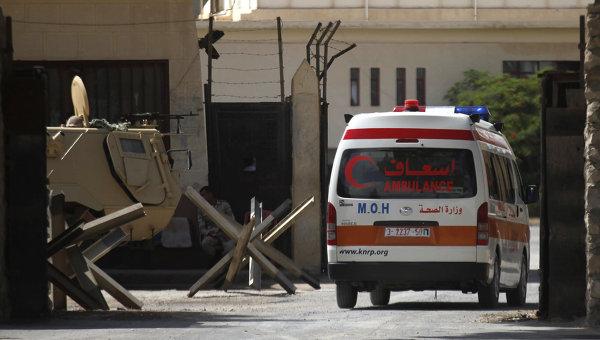 Автомобиль скорой помощи в Египте. Архивное фото