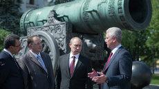 Обсуждение плана по преобразованию территории Московского Кремля