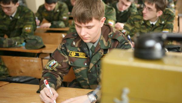 Военная кафедра, архивное фото