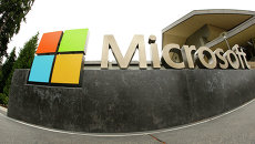 Офис компании Microsoft. Архивное фото