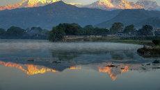 Горы: Аннапурна и Мачапучаре. Архивное фото