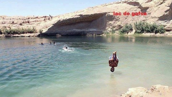 Мистическое озеро в Тунисе