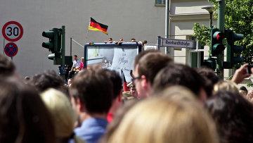 Митинг в Германии. Архивное фото