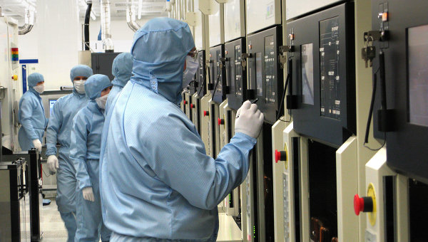 НИИМЭ и Микрон — крупнейший производитель интегральных микросхем в России и СН. Архивное фотоГ