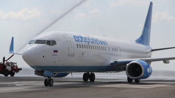 Самолет Boeing 737-800 авиакомпании Добролет