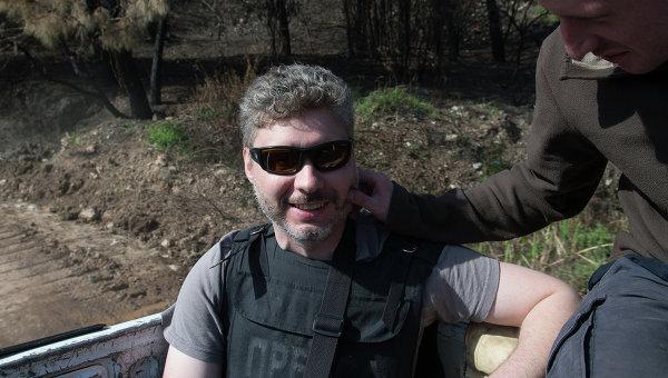 Специальный фотокорреспондент МИА Россия сегодня Андрей Стенин, архивное фото