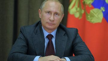 В. Путин. Архивное фото