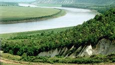 Река Днестр в Молдавии. Архивное фото