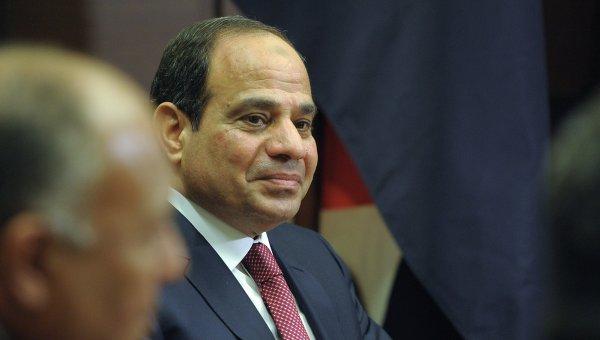 Президент Египта Абдель Фаттах ас-Cиси. Архивное фото