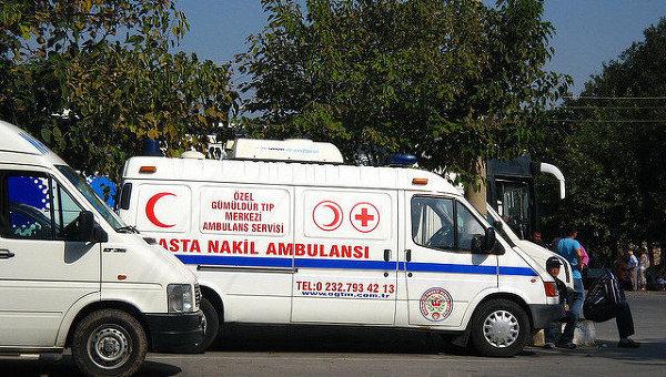 Машина турецкой скорой помощи, архивное фото