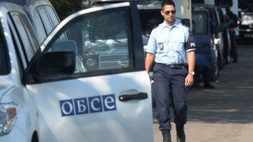 Эксперты и представители ОБСЕ работают на Украине. Архивное фото
