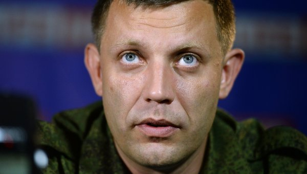 Премьер-министр Донецкой народной республики Александр Захарченко. Архивное фото