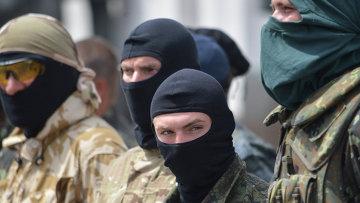 Бойцы батальона Донбасс, Архивное фото.