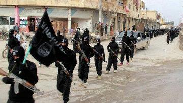 Бойцы Исламского государства. Архивное фото