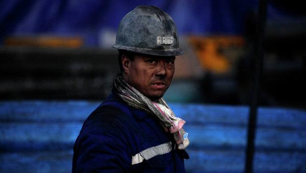 Китайский шахтер. Архивное фото