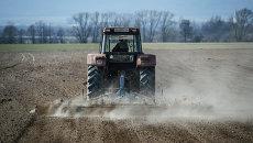 Трактор. Архивное фото