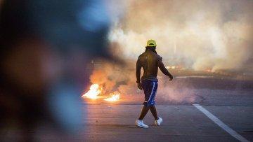 Беспорядки в Фергюсоне 19 августа 2014
