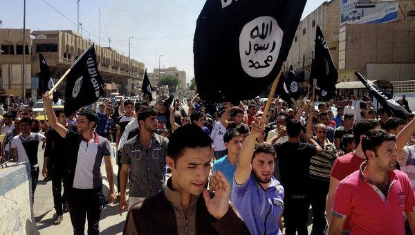Сторонники группировки Исламское государство. Архивное фото