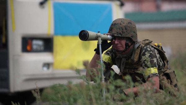 Боец батальона Донбасс