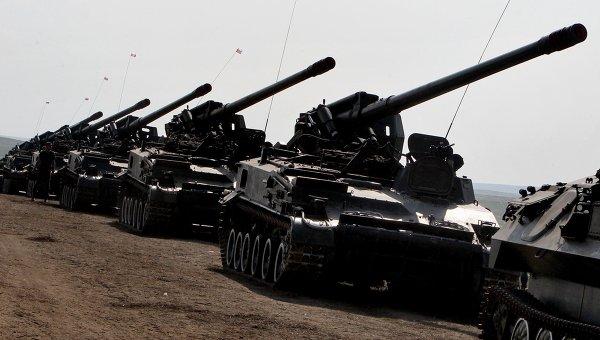 Техника Сухопутных войск РФ. Архивное фото