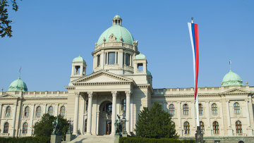 Парламент Сербии. Архивное фото