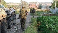 Ситуация в городе Иловайске Донецкой области, архивное фото