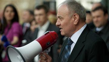 Президент Молдавии Николай Тимофти. Архивное фото