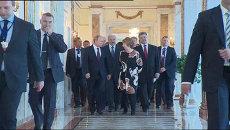 Прекратить кровопролитие - Порошенко о цели визита в Минск