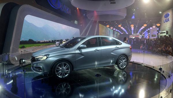 АвтоВАЗ начал серийное производство Lada Vesta