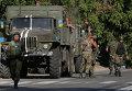 Украинские силовики на востоке Украины. 26 августа 2014