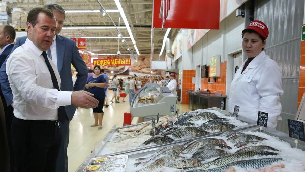Рабочая поездка Д.Медведева в Южный федеральный округ