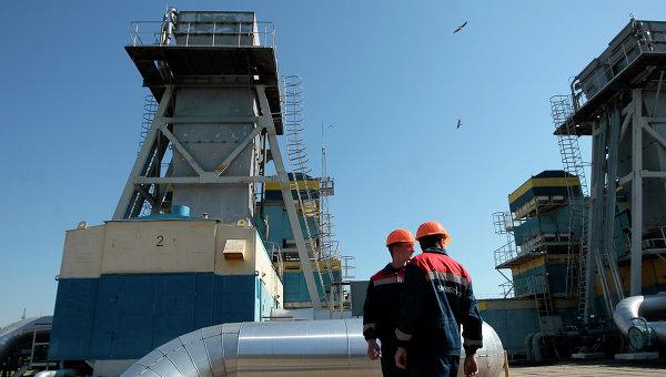 Рабочие станции газопровода возле Ужгорода. Архивное фото