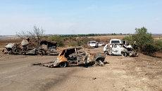 Место гибели Андрея Стенина