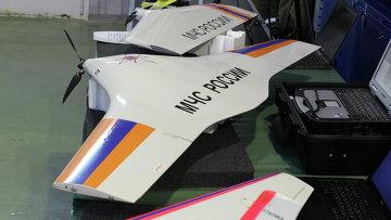 Беспилотные летательные аппараты МЧС России. Архивное фото