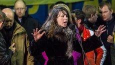 Журналистка и общественная активистка Татьяна Чорновол
