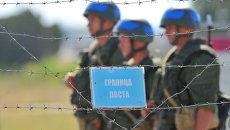 Учения Оперативной группы российских войск в Приднестровье. Архивное фото