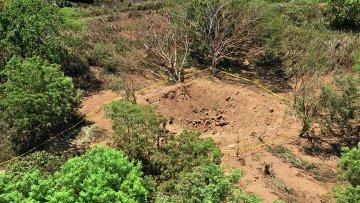 На месте падения метеорита в Никарагуа