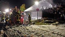 Взрыв прогремел на химическом заводе Organo-Fluid, коммуна Риттерхуд. Германия