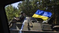 Украинские военные. Архивное фото.