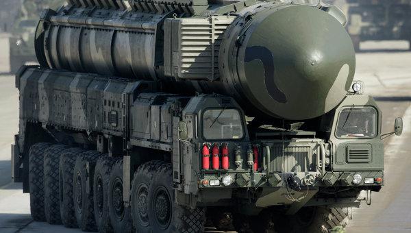 Пусковая установка комплекса Тополь-М. Архивное фото