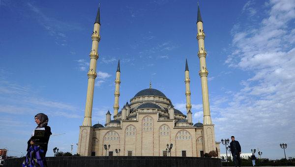 Центральная мечеть им. Ахмата Кадырова Сердце Чечни в Грозном. Архивное фото