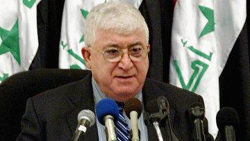 Президент Ирака Фуад Маасум. Архивное фото