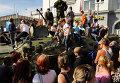 Празднование дня города в Луганске
