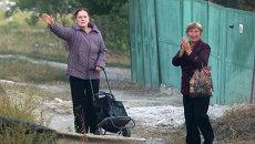 Жители Луганска. Архивное фото