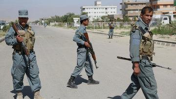 Афганская полиция в Кабуле. Архивное фото