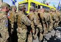 """Отправление добровольческого батальона """"Сич"""" в зону вооруженного конфликта"""