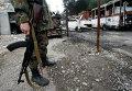 Последствия обстрела Донецка 16 сентября 2014