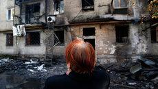 Донецк после обстрела, Архивное фото